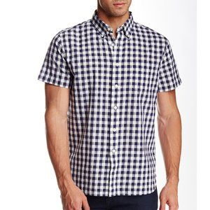 Grayers Grange Shadow Gingham Oxford Shirt XXL